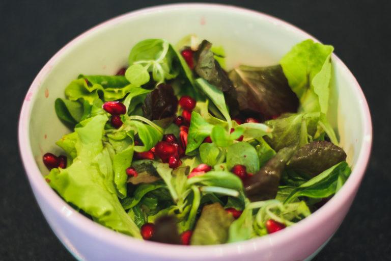 Salat_Granatapfelkerne