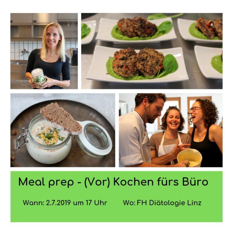 Kopie von Meal Prep - (Vor)kochen für die Arbeit