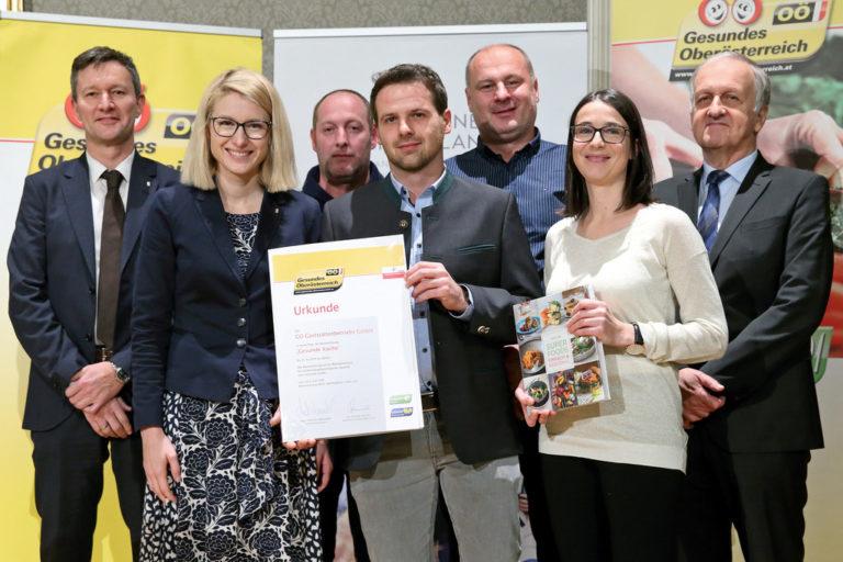 Gesunde Küche Zertifikat_betriebliche Gesundheitsförderung_Bildquelle Land OÖ