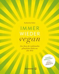 Buchcover Immer wieder vegan