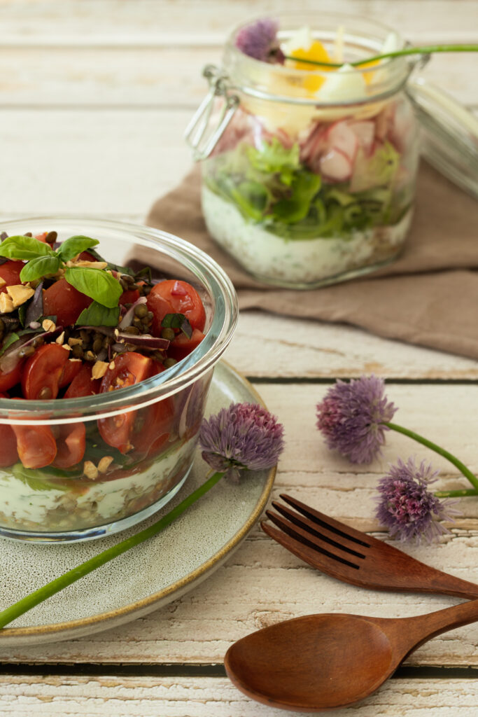Meal prep Salat - Andrea Kasper-Füchsl