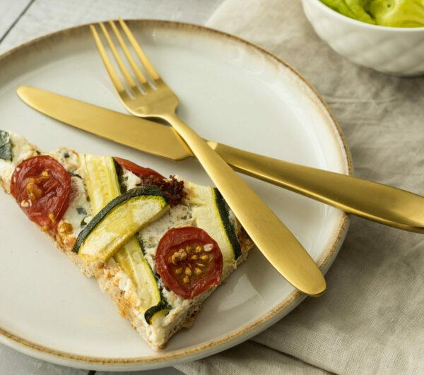 Tarte mit Zucchini