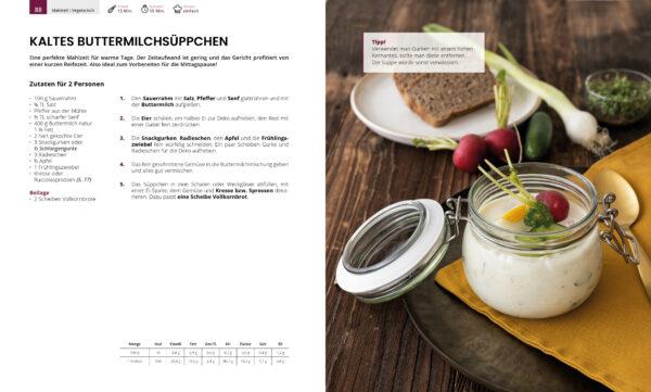Buttermilchsüppchen- Auszug Kochbuch Genussvoll die Welt retten