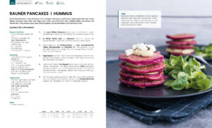Rauner Pancakes - Auszug Kochbuch Genussvoll die Welt retten